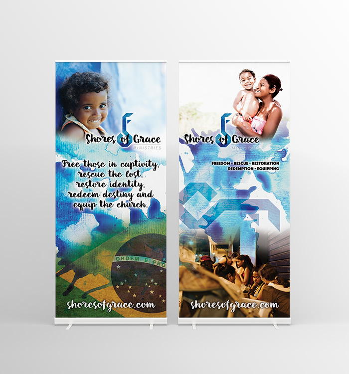 Shores of Grace Banners