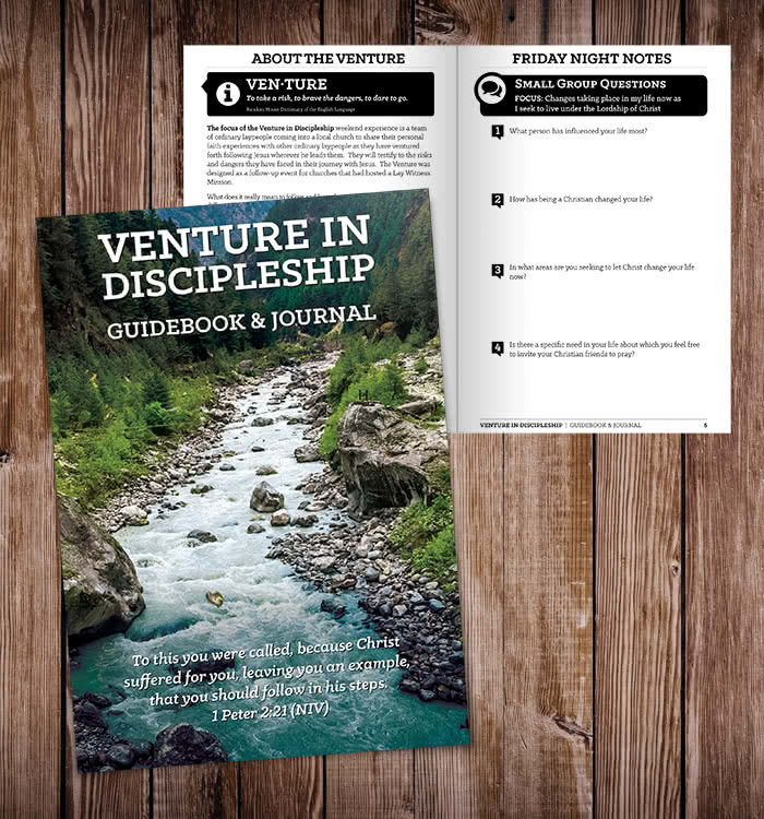 Venture In Discipleship Manual